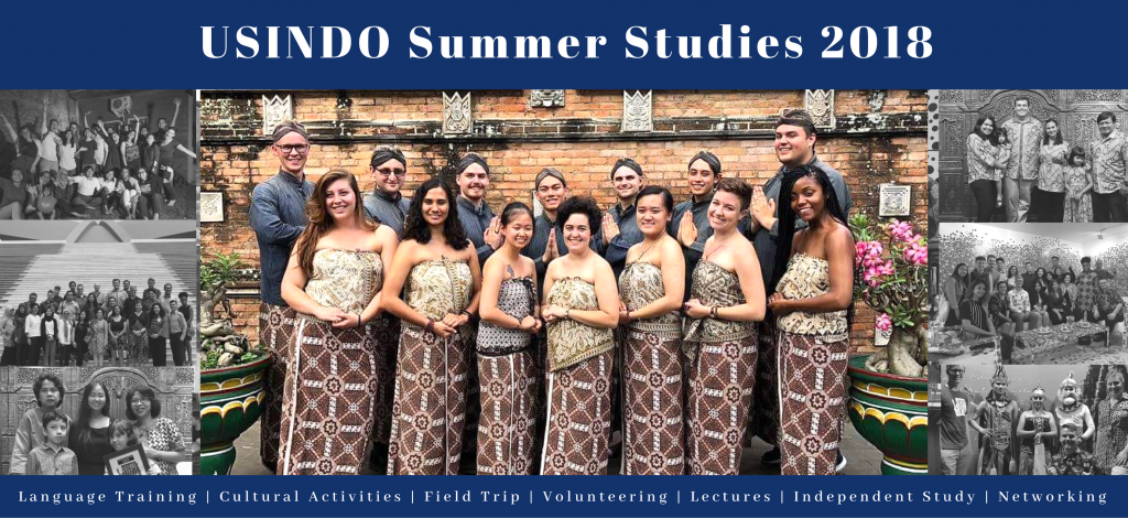 USINDO Summer Studies 2018